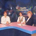 《空中英語教室Studio Classroom Live》進入電視教學-華衛播出